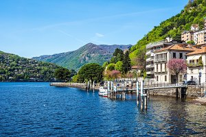View of Lake Como (HDR)