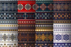 8 Geometric Ethnic Patterns