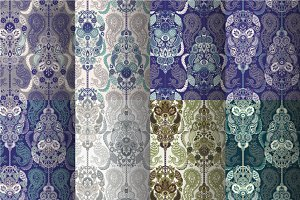 Set of 8 Ethnic Patterns