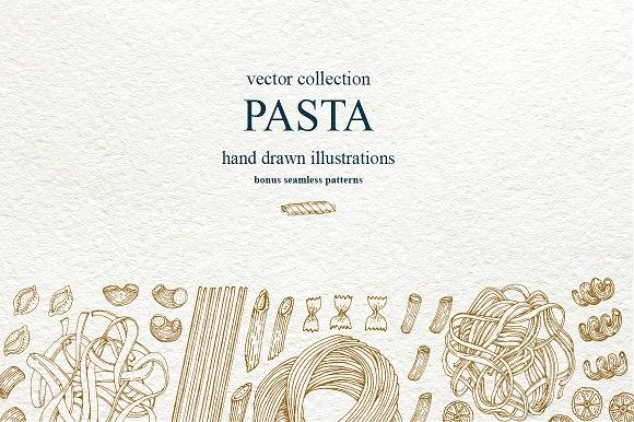 Pasta Vector Collection