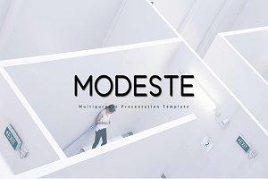 MOdeste Keynote Template