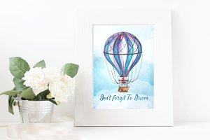 Don't Forget To Dream Print&Clipart
