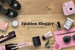 Fashion blogger scene creator