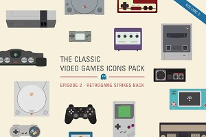 Video games icons pack, Vol.2