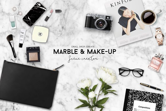 Download Custom scene creator marble & makeup