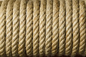Rope Texture Close Up