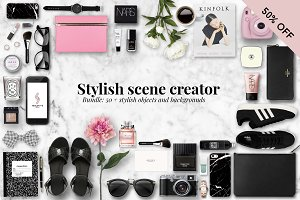 Stylish Scene creator bundle