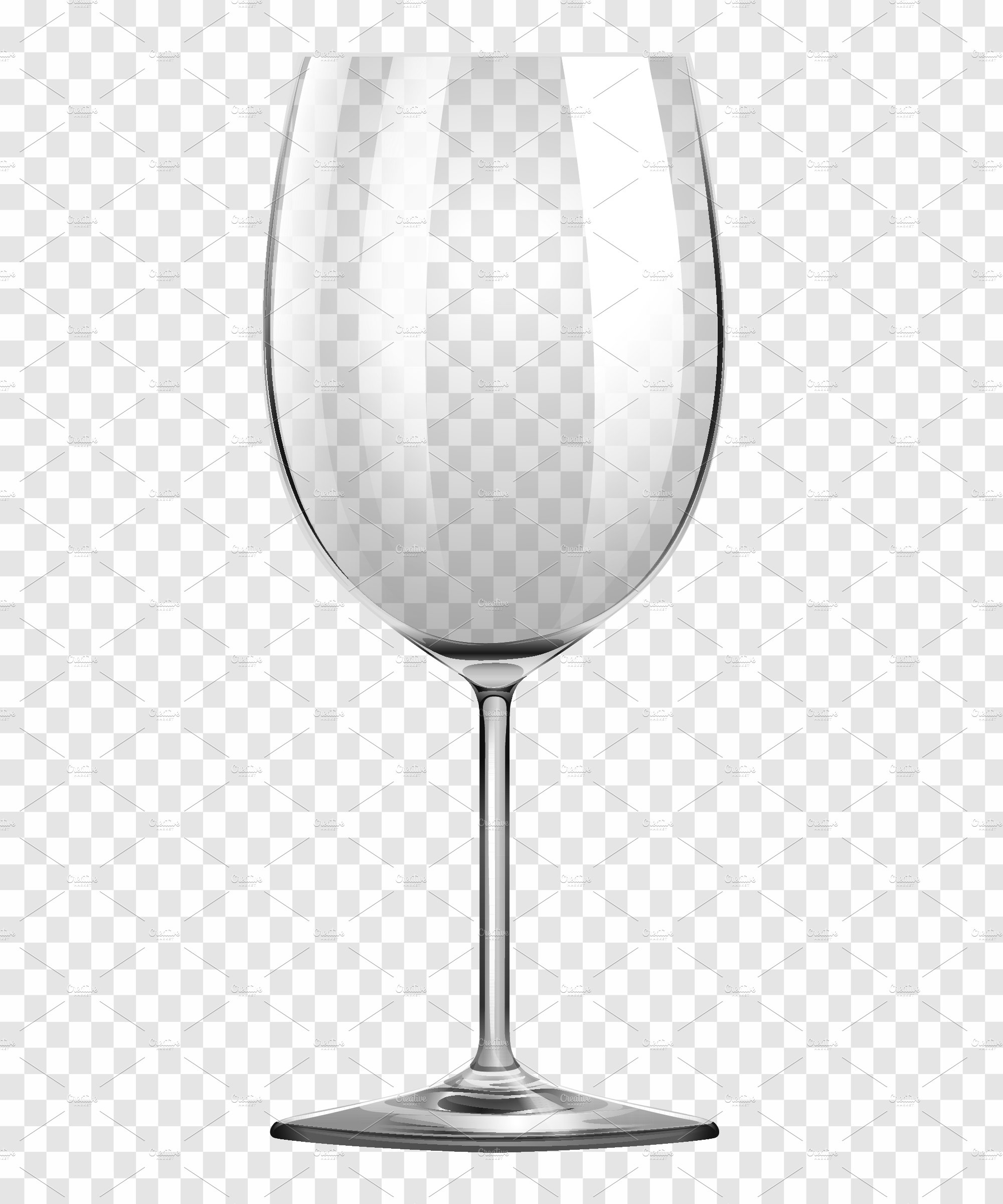 58051877d95 Wine Glass on transparent Background ~ Graphic Objects ~ Creative Market