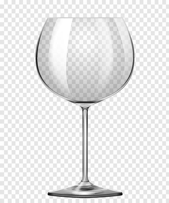 Wine Glass On Transparent Background