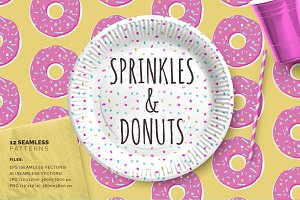 Sprinkles & Donuts Patterns