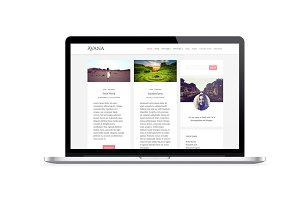 Avana, clean and minimal child theme
