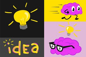 Fast thinking idea set