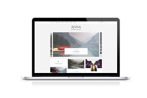 Anna, clean blog and ecommerce theme