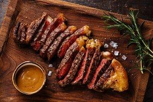sliced Steak Striploin