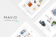 Mavio E-Commerce UI/UX Kit