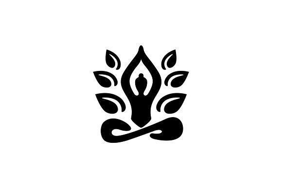 meditation logo template logo templates creative market