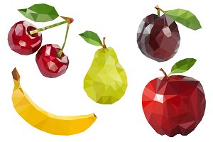 Polygonal fruit set