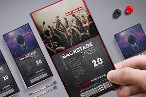 Multipurpose Backstage Pass