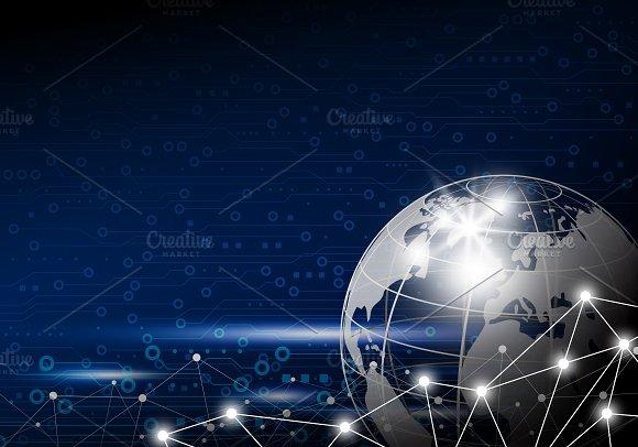 Global network design in Illustrations