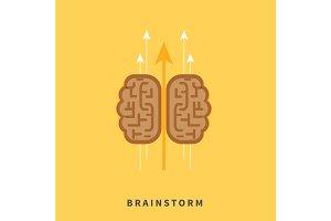 Brainstorm headwork concept