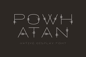 POWHATAN FONT