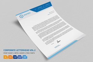 Corporate Letterhead 2 with MS Word