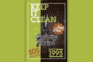 gardening services banner