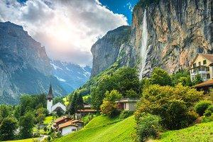 Fabulous alpine village