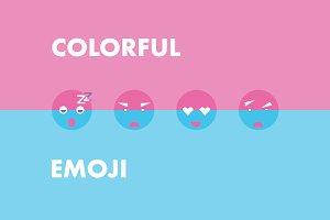 Сolorful emoji
