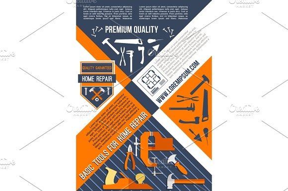 Vector Poster For House Or Home Repair