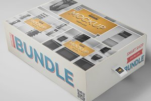 Stand Mockup Bundle (40% OFF)