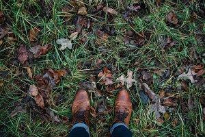 Feet + Grass
