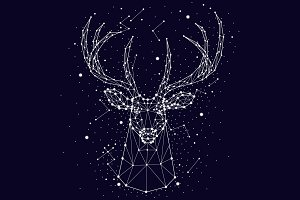 Constellation deer