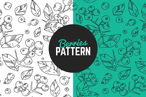Berries pattern