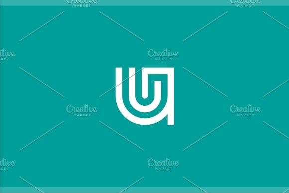 Unique Letter U Logo