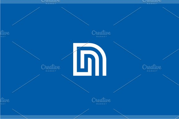network letter n logo logo templates creative market