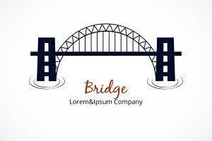 Bridge Logo Graphic Design