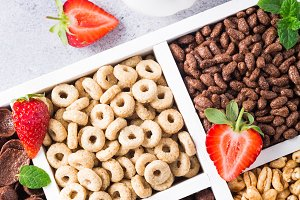 Quick breakfast cereals