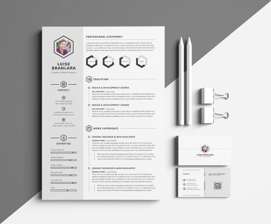Minimal ResumeCV   Resume Templates