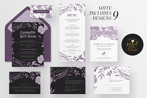 Wedding Invitation Suite - Jannette