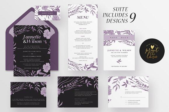 Wedding Invitation Suite - Jannette
