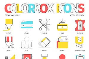Colorbox icons, Office Tools