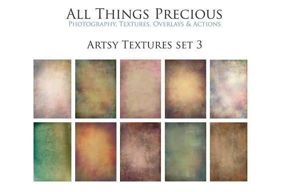 Artsy Textures SET 3