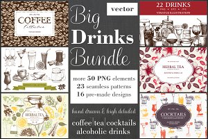 Big DRINKS Bundle 70% off