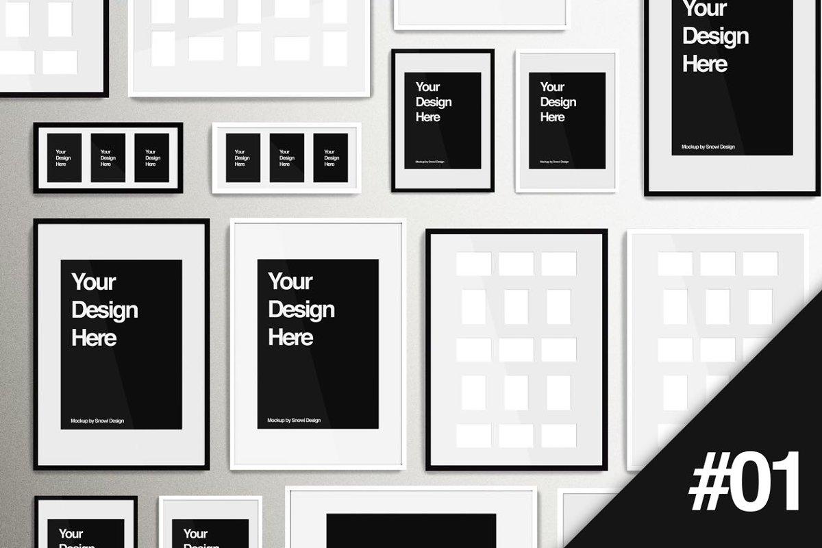 IKEA Picture Frame Mockup Pack #01 ~ Print Mockups ~ Creative Market