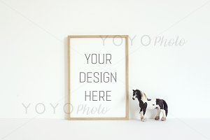 Nursery Styled Thin Wooden Frame