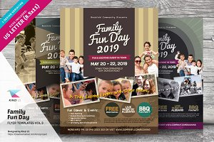 Family Fun Day Flyers vol.03