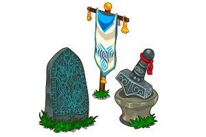 Set of items in Norse mythology