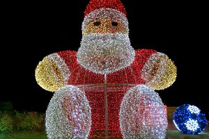 Santa Claus illumination