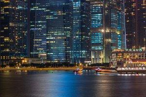 Singapore landmark city skyline